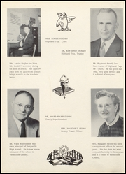 Page 10, 1956 Edition, Perrysville High School - Echoes Yearbook (Perrysville, IN) online yearbook collection