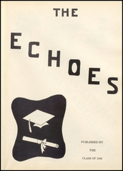 Page 5, 1956 Edition, Perrysville High School - Echoes Yearbook (Perrysville, IN) online yearbook collection