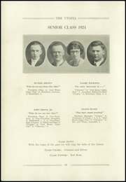 Page 14, 1924 Edition, Cayuga High School - Utopia Yearbook (Cayuga, IN) online yearbook collection
