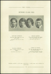 Page 16, 1924 Edition, Cayuga High School - Utopia Yearbook (Cayuga, IN) online yearbook collection