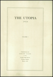 Page 5, 1924 Edition, Cayuga High School - Utopia Yearbook (Cayuga, IN) online yearbook collection