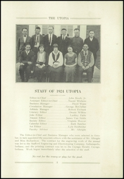 Page 7, 1924 Edition, Cayuga High School - Utopia Yearbook (Cayuga, IN) online yearbook collection