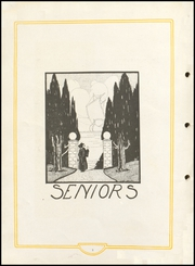 Page 10, 1925 Edition, Cayuga High School - Utopia Yearbook (Cayuga, IN) online yearbook collection