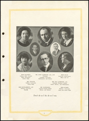 Page 9, 1925 Edition, Cayuga High School - Utopia Yearbook (Cayuga, IN) online yearbook collection