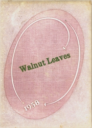 Walnut Grove High School - Walnut Leaves Yearbook (Arcadia, IN) online yearbook collection, 1958 Edition, Page 1