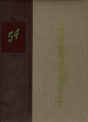 1954 Edition, Salamonie Township High School - Thunderbolt Yearbook (Warren, IN)