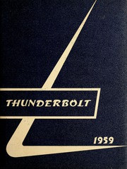 1959 Edition, Salamonie Township High School - Thunderbolt Yearbook (Warren, IN)