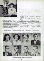 Page 14, 1952 Edition, Madison Township High School - Madisonian Yearbook (Wakarusa, IN) online yearbook collection