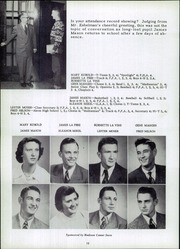Page 16, 1952 Edition, Madison Township High School - Madisonian Yearbook (Wakarusa, IN) online yearbook collection