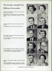 Page 9, 1952 Edition, Madison Township High School - Madisonian Yearbook (Wakarusa, IN) online yearbook collection