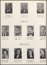 Page 12, 1951 Edition, Converse Jackson High School - Borderlite Yearbook (Converse, IN) online yearbook collection