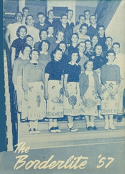 1957 Edition, Converse Jackson High School - Borderlite Yearbook (Converse, IN)