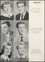 Page 12, 1957 Edition, Converse Jackson High School - Borderlite Yearbook (Converse, IN) online yearbook collection