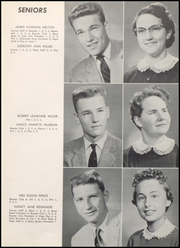 Page 15, 1957 Edition, Converse Jackson High School - Borderlite Yearbook (Converse, IN) online yearbook collection