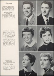 Page 15, 1958 Edition, Converse Jackson High School - Borderlite Yearbook (Converse, IN) online yearbook collection