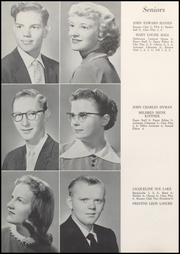 Page 16, 1958 Edition, Converse Jackson High School - Borderlite Yearbook (Converse, IN) online yearbook collection