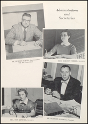 Page 9, 1958 Edition, Converse Jackson High School - Borderlite Yearbook (Converse, IN) online yearbook collection