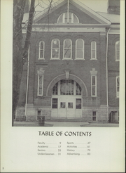 Page 6, 1959 Edition, Converse Jackson High School - Borderlite Yearbook (Converse, IN) online yearbook collection