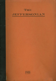 1935 Edition, Jefferson High School - Jeffersonian Yearbook (Goshen, IN)