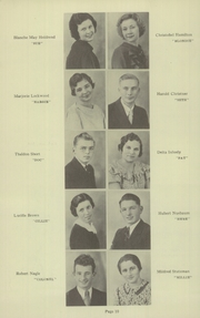 Page 12, 1935 Edition, Jefferson High School - Jeffersonian Yearbook (Goshen, IN) online yearbook collection