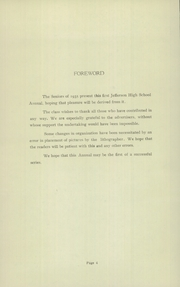 Page 6, 1935 Edition, Jefferson High School - Jeffersonian Yearbook (Goshen, IN) online yearbook collection