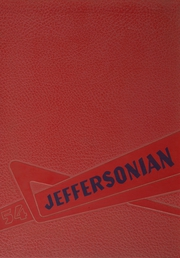 1954 Edition, Jefferson High School - Jeffersonian Yearbook (Goshen, IN)