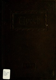 1927 Edition, Gas City High School - Epoch Yearbook (Gas City, IN)