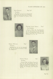 Page 13, 1945 Edition, Gas City High School - Epoch Yearbook (Gas City, IN) online yearbook collection