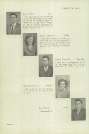 Page 14, 1945 Edition, Gas City High School - Epoch Yearbook (Gas City, IN) online yearbook collection