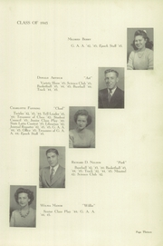 Page 17, 1945 Edition, Gas City High School - Epoch Yearbook (Gas City, IN) online yearbook collection