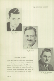 Page 8, 1945 Edition, Gas City High School - Epoch Yearbook (Gas City, IN) online yearbook collection