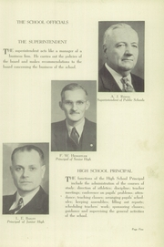 Page 9, 1945 Edition, Gas City High School - Epoch Yearbook (Gas City, IN) online yearbook collection