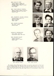 Page 11, 1954 Edition, Kirklin High School - Kay Yearbook (Kirklin, IN) online yearbook collection