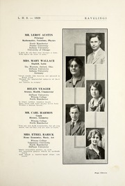 Page 17, 1929 Edition, Leesburg High School - Blazer Yearbook (Leesburg, IN) online yearbook collection