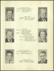 Page 11, 1951 Edition, Leesburg High School - Blazer Yearbook (Leesburg, IN) online yearbook collection