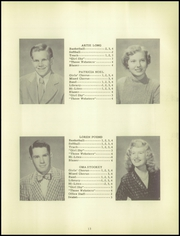 Page 17, 1951 Edition, Leesburg High School - Blazer Yearbook (Leesburg, IN) online yearbook collection