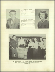 Page 18, 1951 Edition, Leesburg High School - Blazer Yearbook (Leesburg, IN) online yearbook collection