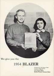 Page 5, 1954 Edition, Leesburg High School - Blazer Yearbook (Leesburg, IN) online yearbook collection