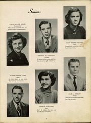 Page 11, 1951 Edition, Lancaster High School - Reflector Yearbook (Bluffton, IN) online yearbook collection