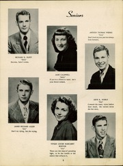 Page 9, 1951 Edition, Lancaster High School - Reflector Yearbook (Bluffton, IN) online yearbook collection