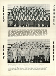 Lancaster High School - Reflector Yearbook (Bluffton, IN) online yearbook collection, 1955 Edition, Page 42