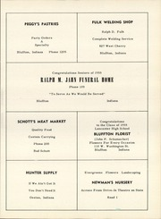 Lancaster High School - Reflector Yearbook (Bluffton, IN) online yearbook collection, 1955 Edition, Page 73
