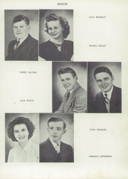 Page 13, 1949 Edition, Harrison Township High School - Harrisonian Yearbook (Gaston, IN) online yearbook collection