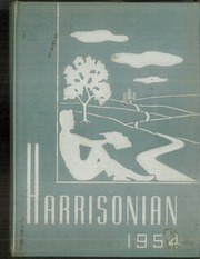 Page 1, 1954 Edition, Harrison Township High School - Harrisonian Yearbook (Gaston, IN) online yearbook collection