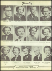 Page 10, 1955 Edition, Harrison Township High School - Harrisonian Yearbook (Gaston, IN) online yearbook collection