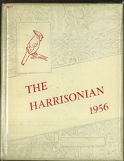 1956 Edition, Harrison Township High School - Harrisonian Yearbook (Gaston, IN)