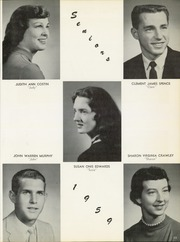 Page 15, 1959 Edition, Harrison Township High School - Harrisonian Yearbook (Gaston, IN) online yearbook collection