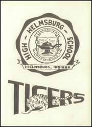 Page 5, 1958 Edition, Helmsburg High School - Tiger Echoes Yearbook (Helmsburg, IN) online yearbook collection