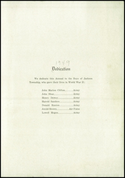 Page 3, 1949 Edition, Jackson Township High School - Blackboard Yearbook (Jamestown, IN) online yearbook collection