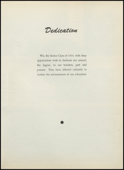Page 5, 1954 Edition, Jackson Center High School - Jaguar Yearbook (Bluffton, IN) online yearbook collection